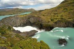Grande cascada de Salto Fotografía de archivo libre de regalías