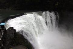 Grande cascade dans Shifen Taïwan Image libre de droits