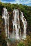 Grande cascata Fotografia Stock Libera da Diritti