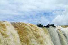 Grande cascata Immagini Stock