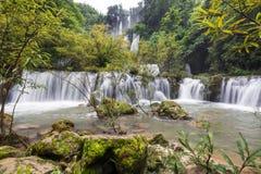Grande cascata Immagine Stock Libera da Diritti