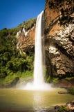Grande cascata Chuvisqueiro Immagine Stock Libera da Diritti