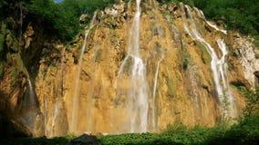 Grande cascata in Croazia stock footage