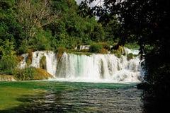 Grande cascata del whitewater Fotografia Stock