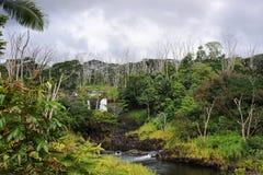 Grande cascata dell'isola Fotografie Stock Libere da Diritti