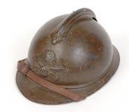 Grande casco del francese di guerra Fotografie Stock