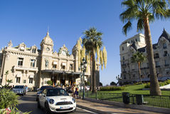 Grande casinò a Monte Carlo Fotografia Stock Libera da Diritti