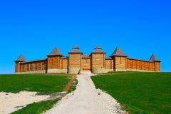 Grande castello dello slavic Fotografia Stock Libera da Diritti