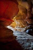 Grande caverna del salnitro nel Kentucky Fotografia Stock Libera da Diritti