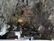 Grande caverna dell'arco alle caverne di Jenolan Fotografia Stock