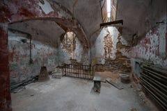 Grande cellule de prison dans la prison d'état de Pâques Photographie stock
