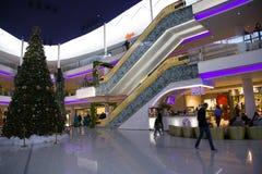 Grande centro commerciale moderno del Marocco del centro commerciale Fotografie Stock Libere da Diritti