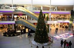 Grande centro commerciale moderno del Marocco del centro commerciale Immagine Stock Libera da Diritti
