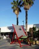 Grande chaise de plate-forme Images libres de droits