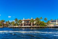 Grande Chambre dans le Fort Lauderdale Photos libres de droits