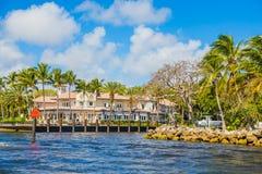 Grande Chambre dans le Fort Lauderdale Images stock