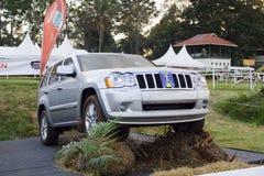 Grande cherokee di Jeep Fotografia Stock Libera da Diritti