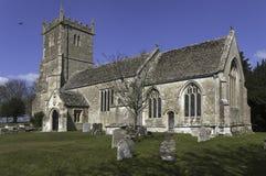 Grande chiesa di Somerford Immagini Stock
