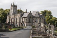 Grande chiesa in Irlanda del nord Fotografia Stock Libera da Diritti