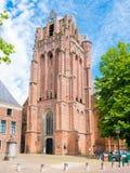 Grande chiesa o John Baptist Church nel bij Duurstede, N di Wijk Immagini Stock Libere da Diritti