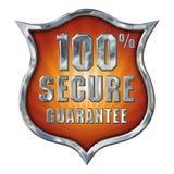Grande Chrome fixa o protetor no branco Fotos de Stock Royalty Free