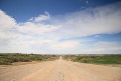Grande cielo Alberta Fotografie Stock