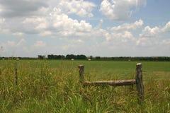 Grande cielo del Texas Immagini Stock