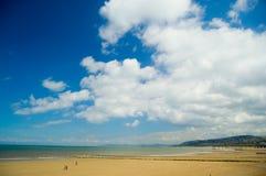 Grande cielo ed il paesaggio Immagini Stock Libere da Diritti