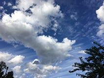Grande cielo immagini stock libere da diritti