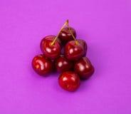 Grande ciliegia rossa Fotografie Stock Libere da Diritti