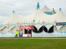 Grande cima del circo Fotografie Stock Libere da Diritti