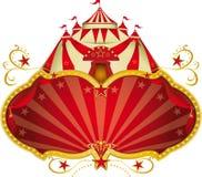 Grande cima del circo magico Immagini Stock