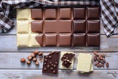 Grande cioccolato Fotografia Stock Libera da Diritti