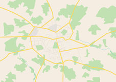 Grande città - piano Illustrazione Vettoriale