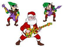 Grande Claus ed i piccoli Boppers Immagine Stock Libera da Diritti