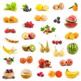 Grande collection de fruits Photographie stock