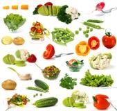Grande collection de légumes Photographie stock libre de droits