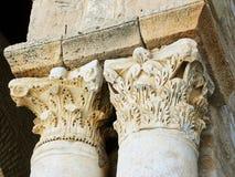 Grande colonne de mosquée de Kairaouen Images stock
