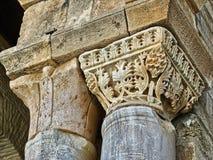 Grande colonne de mosquée de Kairaouen Image libre de droits