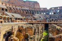Grande Colosseum, Roma, Itália Fotos de Stock