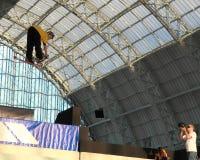 Grande concurrence d'air de violation (Londres) Photo stock