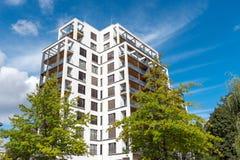 Grande condominio moderno a Berlino Immagini Stock Libere da Diritti