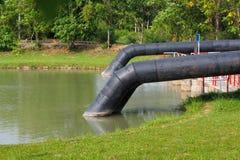 Grande conduite d'eau Images libres de droits