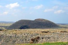 Grande cono della cenere dell'isola Fotografie Stock