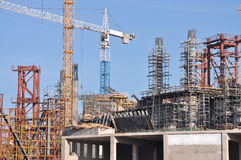 Grande construction Photographie stock libre de droits
