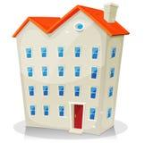 Grande construction de logements Photographie stock libre de droits