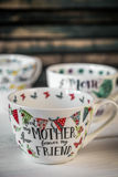 Grande copo bonito para o dia e o 8 de março de mãe Fotografia de Stock Royalty Free