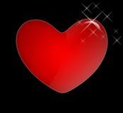 Grande-coração Fotografia de Stock Royalty Free