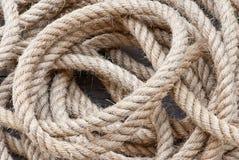 Grande corde de marine Photo libre de droits