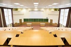Grande corridoio di conferenza di fisica Fotografia Stock Libera da Diritti